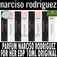 TERMURAH PARFUM NARCISO RODRIGUEZ FOR HER EDP 10ML FOR WOMEN ORIGINAL