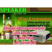 speaker al-qur'an advance tp-600/speaker al quran tp 600/memori 8gb
