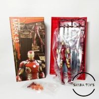 Crazy Toys Mark 43 Iron Man Action Figure - Red [1:12]