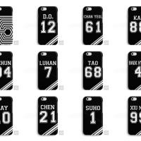 EXO Exodus Kai Lay Suho Tao Xiumin Chen Kpop Phone Case Cover
