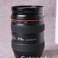 Lensa 24-70 f 2.8 L Canon L series Kode UW