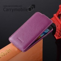 Melkco Premium Leather Vertical Flip Folio Cases for Samsung Galaxy S5