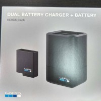 Dual Battery Charger + Battery Gopro HERO6 Black