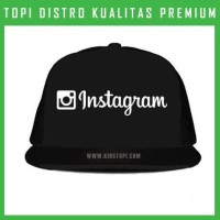 Topi Instagram 5 Trucker Baseball Snapback IGM05 Distro