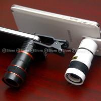 Jual Lensa Smartphone Tele Lens 8x With Clip / Jepit High Qu Limited Murah