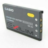 Casio NP-20 Lithium Ion Rechargeable Battery for the Ca Limited