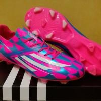 Do sport Sepatu Bola Soccer Adidas Adizero F50 Pink Blue FG