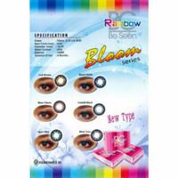 Jual Softlens Rainbow big eyes diameter 16, 5mm NORMAL ONLY free lens case Murah