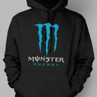 HOODIE I ZIPPER I JUMPER I JAKET I SWEATER RACING MONSTER ENERGY