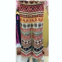 Jual Celana Kulot Import Ethnic Wanita  Murah