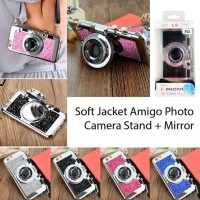 SOFT CASE CAMERA I PHOTO DS 100 STANDING MIRROR GLITTER