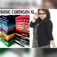 Jual Basic Cardigan XL !!! TERLARIS big size Murah