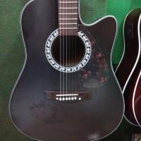 Gitar Akustik Elektrik Yamaha Blackdoff TipeF1000 Equalizer