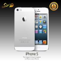 IPHONE 5 16GB SILVER - GARANSI 1 TAHUN DISTRIBUTOR