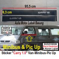 sticker stiker merk tulisan list pintu suzuki carry 1.0 1000cc 1000 cc