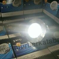 lampu LED downlight 3 watt