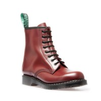 Solovair Sepatu Boot OXBLOOD 8 EYE DERBY BOOT