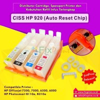Cartridge CISS HP Officejet 7000 6500 6000 HP920 Auto Reset Chip