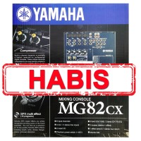MIXER 8 CHANNEL YAMAHA MG-82CX/82 CX/MG82CX/MG82 CX