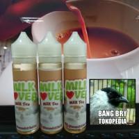 Jual 60ml Milk Lover Milk Tea - Premium Liquid Lokal   Teh Susu Murah