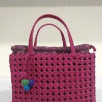 Tas Anyaman Weaving Basket Kertas Jepang