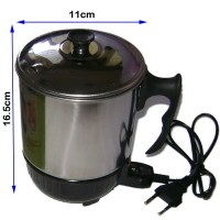 Jual Mug Elektrik/ Teko Listrik Stainless Q2 12 Cm/Pemanas Air Murah