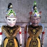 Jual Wayang Golek Custom Wajah ( Badan & Kepala pake Tokoh Wayang ) Murah