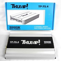 THUMP TP754 4 Channel Mosfet High Power Amplifier Audio Pow T2709