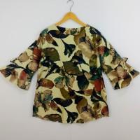 Baju Atasan Jumbo Linen Creamy (Code: MPK)