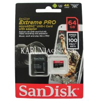Kartu Micro SD Card Sandisk Extreme Pro 64GB UP TO 100MB/S High Qualit