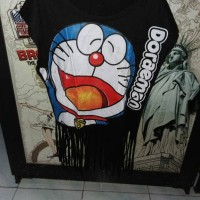Kaos DORAEMON Murah, Lucu Preloved