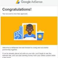 Akun Google Adsense Indo Non Host full approve