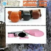 Jual Fuji film X-A2/X-A1/X-M1 Leather Bag/Case/Tas Kamera Murah