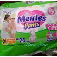 Jual merries pants XL 26 good skin diaper Murah
