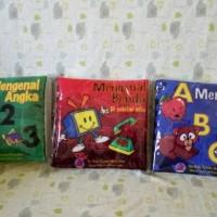 Jual Buku Bantal/Buku Kain/Buntal Seri Pembelajaran Dan Pengenalan Murah