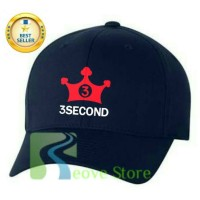 Topi Baseball 3second 3 Second Trucker Snapback - Reove Store