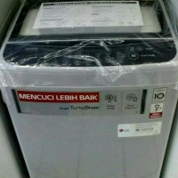 PROMO MESIN CUCI LG Smart inverter T2175VSAM_Kaps.7.5kg_Top Loading