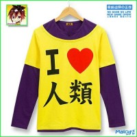 Baju Cosplay Anime No Game no Life (Sora) - Kaos Tshirt Kartun Pd