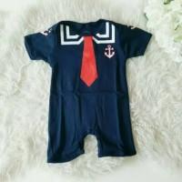 GROSIR Romper Pelaut Navy Baju Pakaian Jumper Profesi Bayi Anak Murah