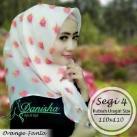 Jual Hijab Original Danisha segiempat rubi Murah