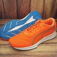ORIGINAL PUMA IGNITE 3 PWRCOOL Sepatu Sneakers Running Pria - orange