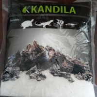 aquarium aquascape pasir silika putih halus Kandila import 1kg