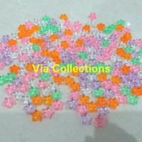 Batu Bintang kristal Acrylic Hiasan Aquarium Vase