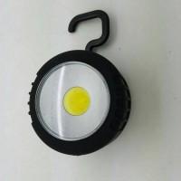 Lampu Emergency led COB 10 titik with magnet & gantung model BULAT