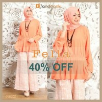 SALE Fella set by efandoank original baju butik muslimah agrabutik