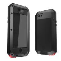Jual Hard Soft Case Casing HP iPhone 5/5s LUNATIK TAKTIK 360 Cover Matte 3D Murah