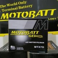 Aki kering Honda Tiger 2000 Motobatt MTX7D