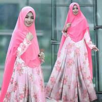 model baju muslim gamis terbaru dan modern tk1 syari areta