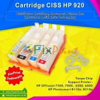 CISS Modif HP 920 Non Chip, Printer HP Officejet 7500 7000 6500 6000