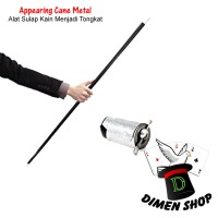 Appearing Cane Metal | Alat Sulap | Silk To Cane | Magic | Dimen Shop